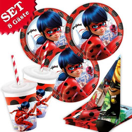 Miraculous Ladybug Party-Set, 69-tlg.