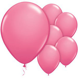 Rosa Ballons, 25 Stk.