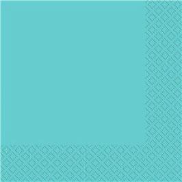 Blaue Servietten, 40cm x 40cm