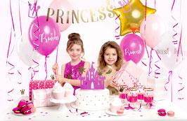 Prinzessinnen-Box in pink und gold