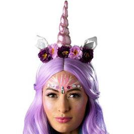 Einhorn Haarreif, rosa