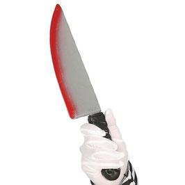 Blutverschmiertes Messer