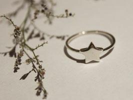 Anillo estrella -plata-