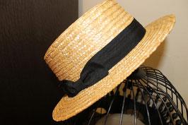 Sombrero canotier copa alta