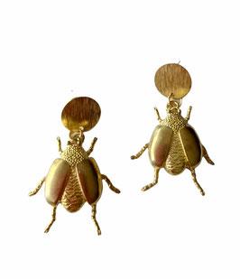 Pendientes Escarabajos | golden