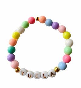 Pulsera pastel | personalizada