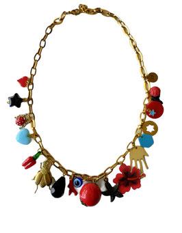 Collar FIESTA | rojo