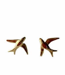 Pendientes golondrinas | golden