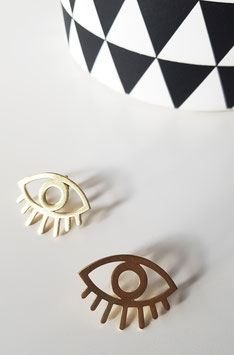 Pendientes GOLDEN EYE
