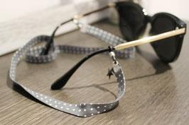Cuelga gafas GREY {lunares GRIS}