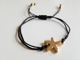 Pulsera soft estrella GOLD