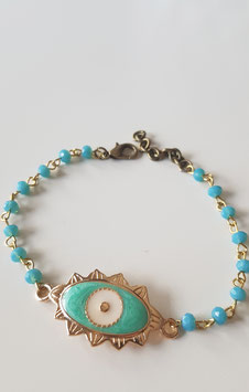 Pulsera evil eye COCO BALL