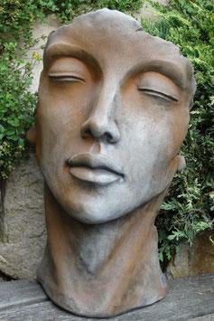 Skulptur Gesicht Frau