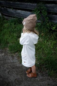 HOODIE DRESS | NATUR MELANGE