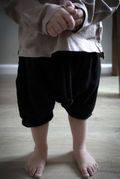 MUSSELIN SHORTS | BLACK