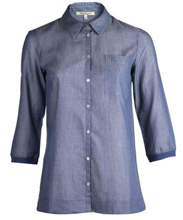 Light Blouse indigo
