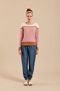 Melona Pullover red