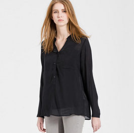 Bluse Nila Pocket black