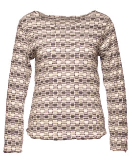 SHIRT MIT MUSTER SP05009220009