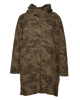 SWEAT KLEID CAMOUFLAGE KHAKI SP05009261049