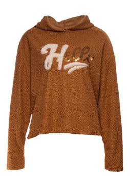 "SWEATSHIRT ""HELLO"" CAMEL SP05011220005"