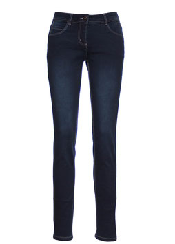 Damen Jeans dark used