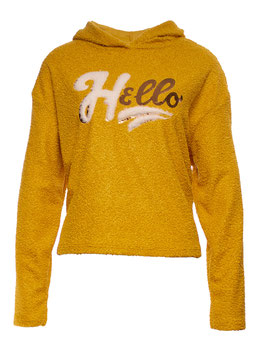 "SWEATSHIRT ""HELLO"" GELB SP05011220005"