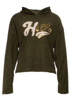 "SWEATSHIRT ""HELLO"" KHAKI SP05011220005"
