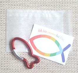 Geschenktütchen Ichthys (rot)