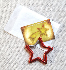Geschenktütchen Stern (rot)