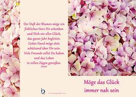 Pfarrkarte - Blumenmeer