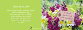 Pfarrkarte - Blumenstrauß