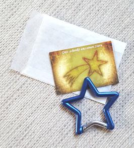 Geschenktütchen Stern (blau)