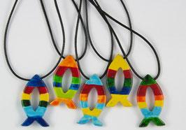 Anhänger Regenbogen-Fisch