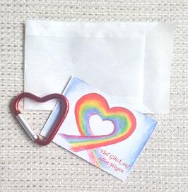 Geschenktütchen Herz (rot)