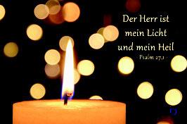 Segen to go - Der Herr ist mein Licht und mein Heil
