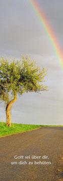 Buchzeichen - Regenbogen