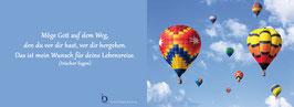 Pfarrkarte - Heißluftballons
