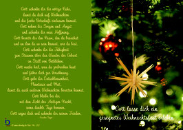 Pfarrkarte - Ein gesegnetes Weihnachtsfest
