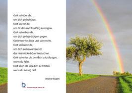 Pfarrkarte - Regenbogen