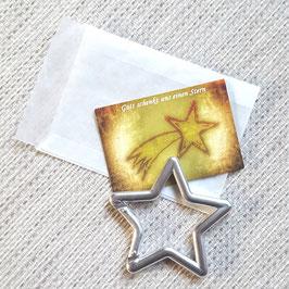 Geschenktütchen Stern (silber)