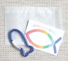 Geschenktütchen Ichthys (blau)