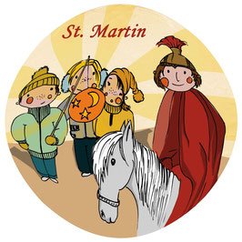 St. Martin-Karte