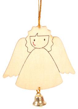 Anhänger Engel mit Glöckchen