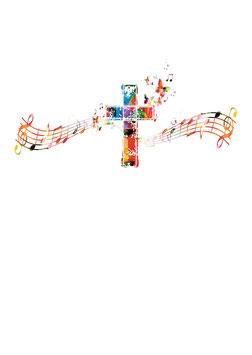 Urkunde Musik-Kreuz