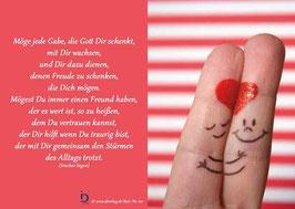 Fingerherz - Möge jede Gabe, die Gott dir schenkt