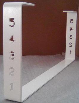 Pied de table basse en métal thermolaqué BaYaT  H 25 x Larg 60 cm