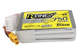 TATTU R-LINE 750MAH 95C 3S1P - XT30