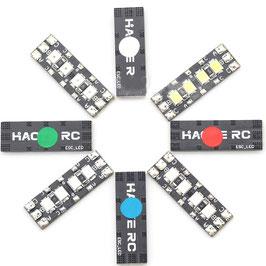 2 Stk. LED 27x9 mm für Motorkabel