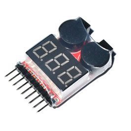 Voltage Checker with Buzzer (1-8 Cell)